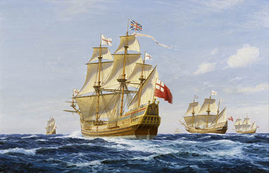 Sea Venture - The London Company Funds from Edward de  Vere